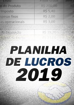 Planilha de Lucro - Academia do Ecommerce!