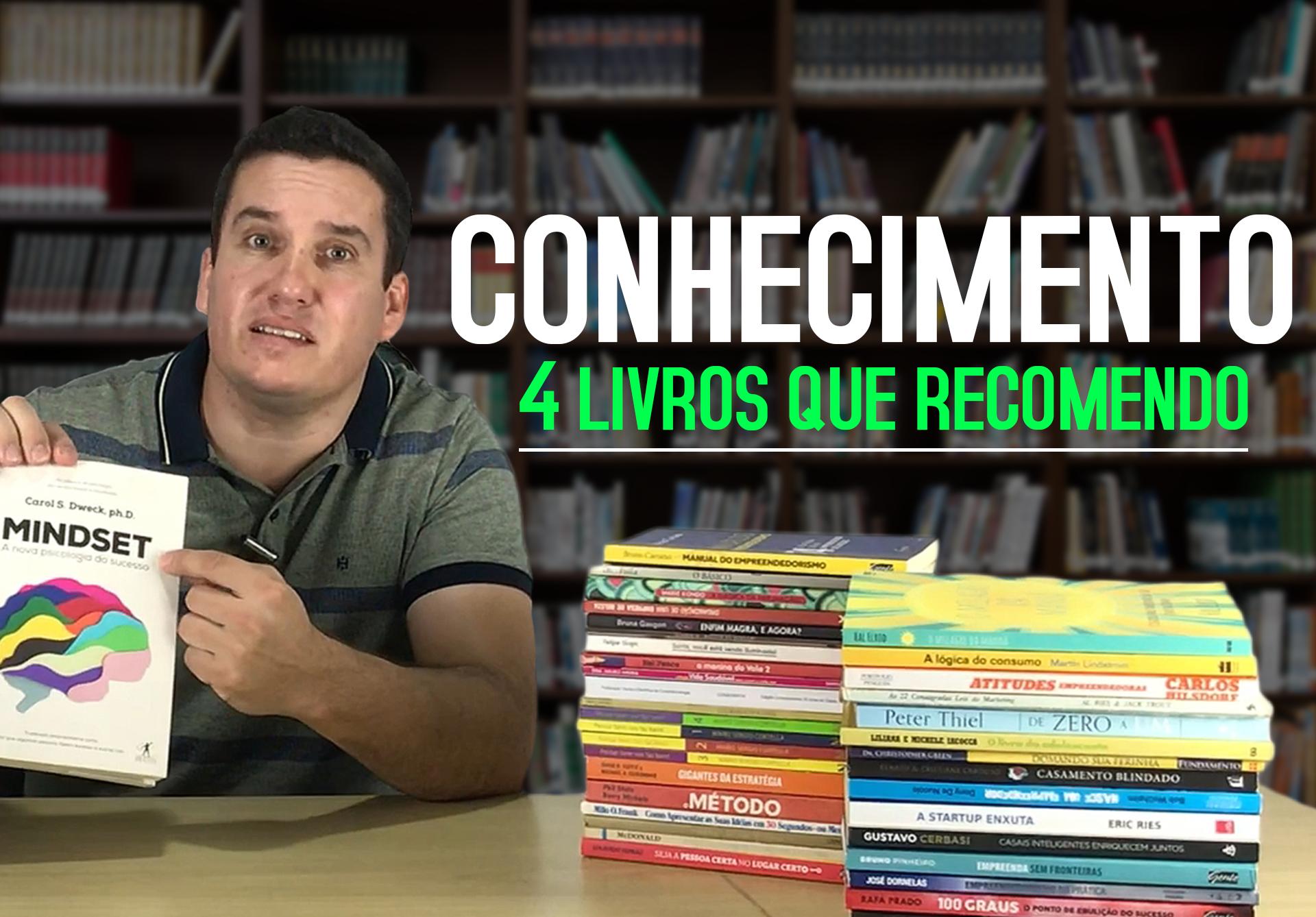 OS 4 LIVROS QUE TODO EMPREENDEDOR PRECISA CONHECER!