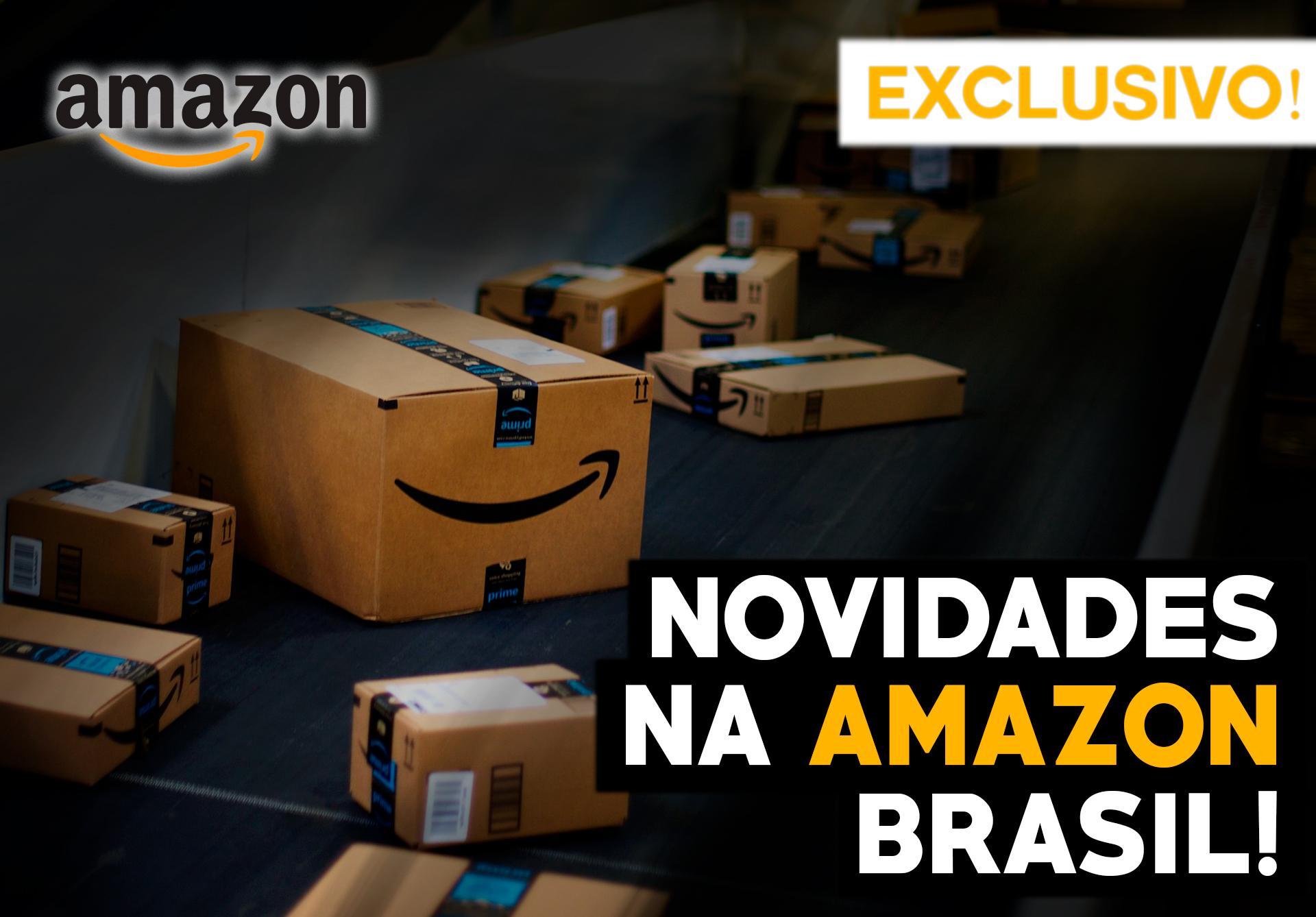 EXCLUSIVO! NOVIDADES NA AMAZON MARKETPLACE 2019